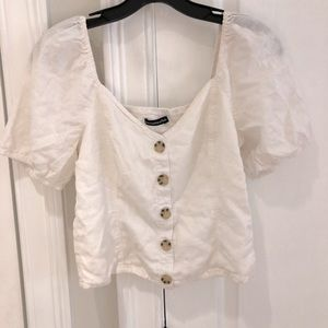 Abercrombie & Fitch White Top